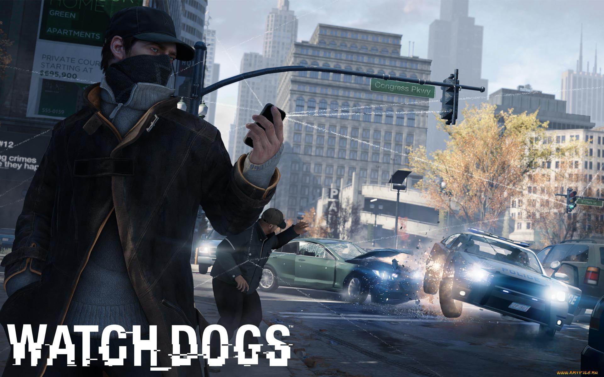картинка watch dogs для телефона